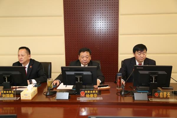 邓州市检察院检察长首次列席市法院审委会