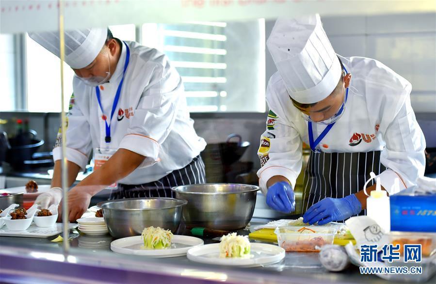 第八届全国烹饪技能竞赛在石家庄举行