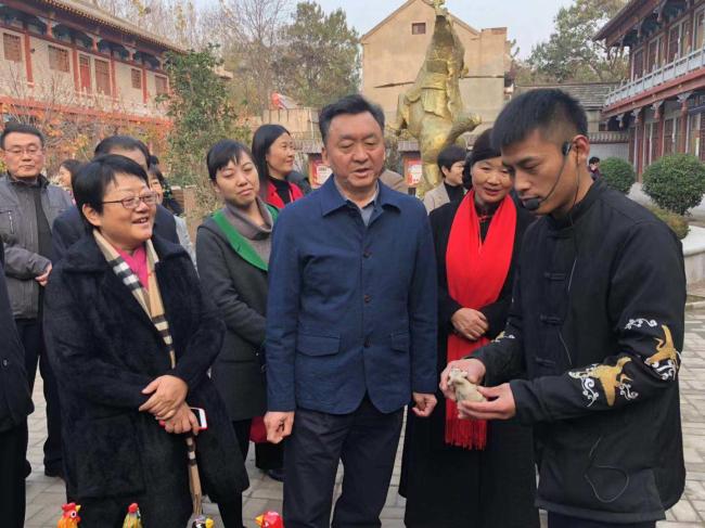 驻豫全国人大代表到鹤壁集中视察乡村振兴战略实施情况