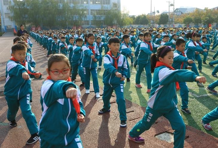河南滑县:武术进校园
