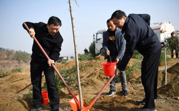 全市建设森林河南暨国家储备林项目工作会议在镇平召开