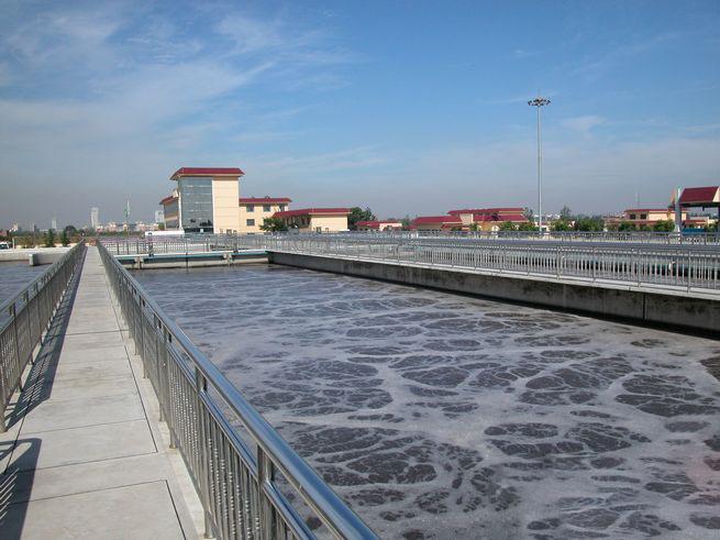 安阳市污水处理厂:誓将污水变清流