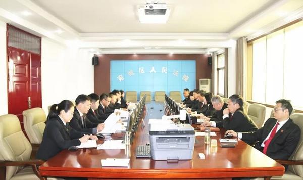 宛城:检察长列席区法院审委会