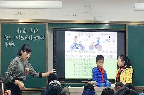 中原区伏牛路小学:专家引领促成长  把脉课堂求实效