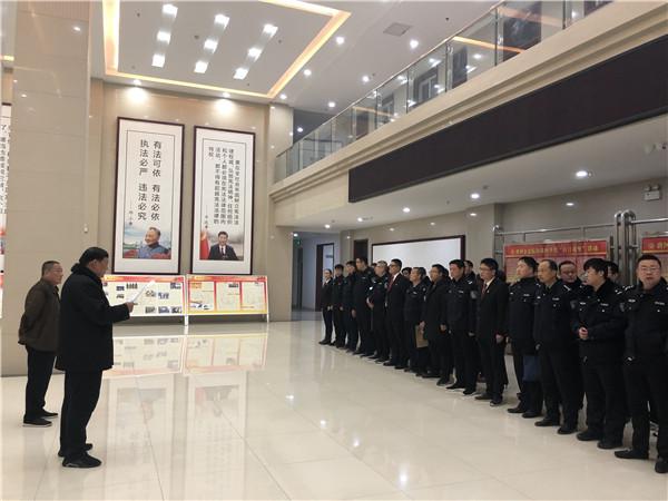 唐河法院冬季攻坚集中执行活动纪实