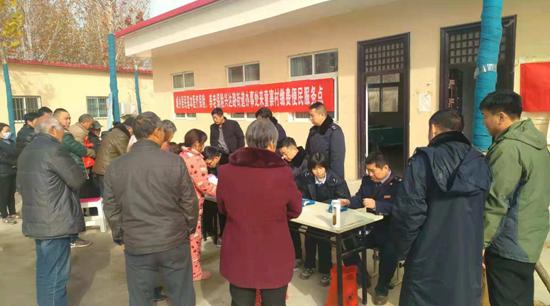郑州市兴达路街道:便民举措送实惠 贴心服务通农家