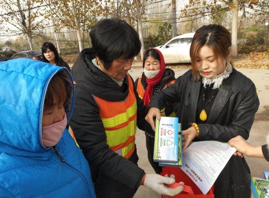 郑州市兴达路街道:争当垃圾分类宣讲员 助力文明城市创建