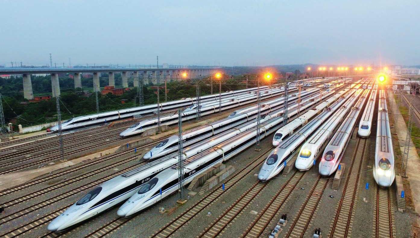 下月5日铁路调图 郑州新增8对高铁
