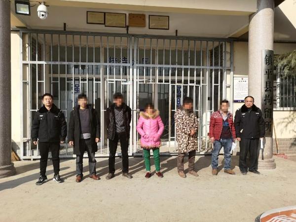 镇平县法院:妨碍执行  五人被拘留