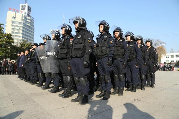"""邓州市启动""""反恐怖普法宣传月""""活动"""