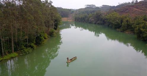 广西浪江河:从船难行到水长清