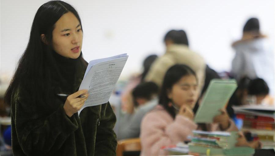 12月22日开考 考研学生备考忙