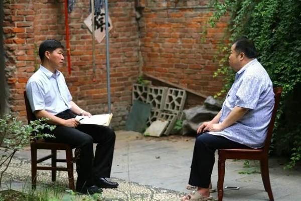 二月河接受中央纪委网站采访二三事