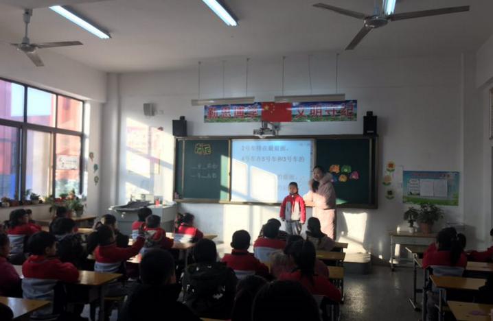 商丘市梁园新区第一小学落实高效新课堂