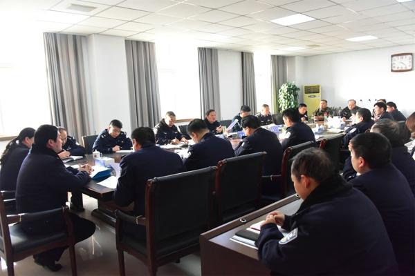 """邓州市公安局召开 """"平安守护""""专项行动推进会"""
