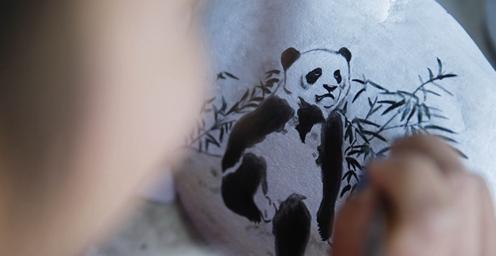 """宝丰石桥镇:""""鹅卵石""""上的中国画"""