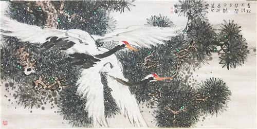 清新隽永 蒼古秀雅——画家张庆作品赏析