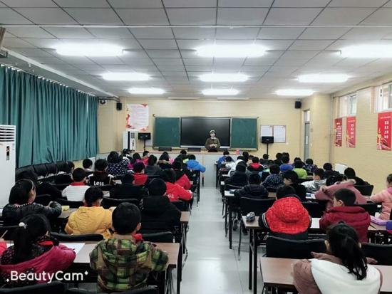 """郑州市高新区五龙口小学举行""""争做口算小能手""""数学口算比赛"""