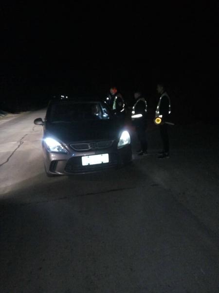 邓州市公安局高集派出所开展辖区冬季巡逻盘查工作