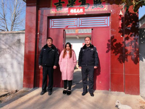 南召县公安局留山派出所查处一起容留非法入境的外国人案件