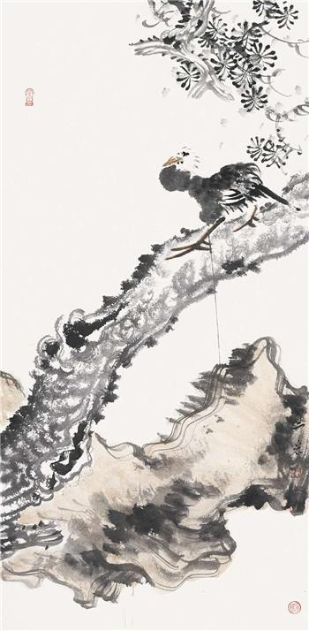 展讯:岩曲醉吟-------宋野岩中国画作品展即将在济南开幕