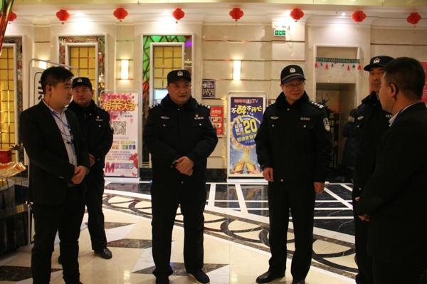 姜江深入城区督导检查多项公安工作