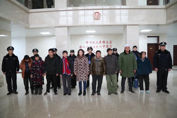"""邓州法院开展涉民生案件集中执行活动 拘留拘传""""老赖""""9人"""
