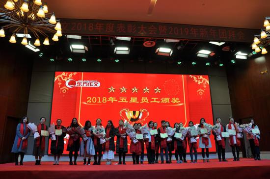 东方作文年度表彰大会暨2019迎新年会隆重召开