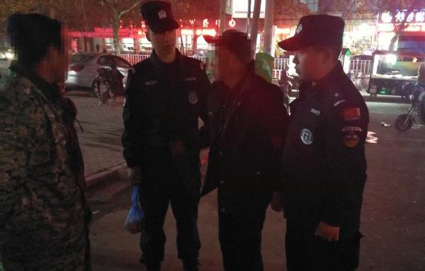 邓州警方爱心接力成功救助耄耋老人