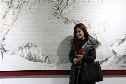 岩曲醉吟——宋野岩中国画作品展在山东省图书馆举办