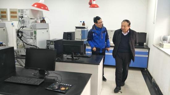 """河南牧业经济学院""""药物中间体合成与质控""""实验室投入使用"""