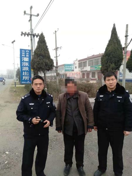 邓州内乡两地民警爱心接力送精神障碍男子回家