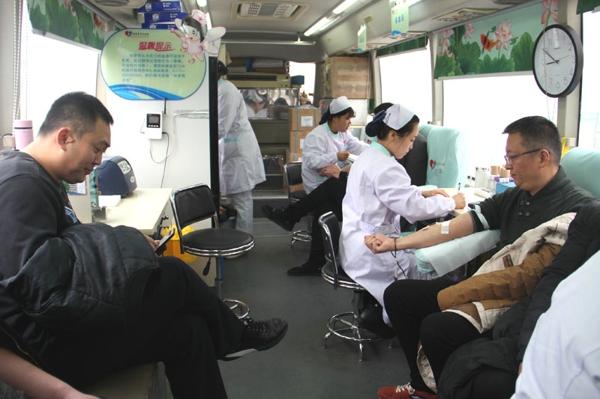【平安守护】新野县公安局组织民警开展无偿义务献血活动