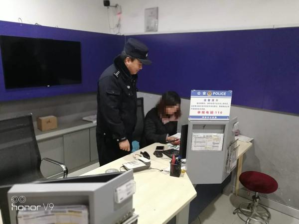 邓州构林派出所开展重点单位安全检查