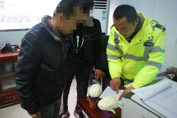 外地大货车误闯禁行区域 邓州交警温情执法司机称赞