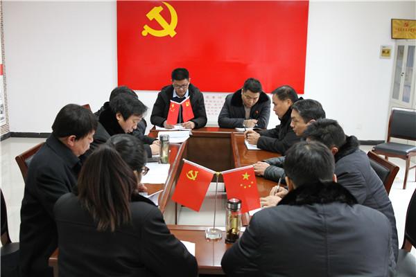 社旗法院组织党员干警学习李庆军、黄登林同志先进事迹