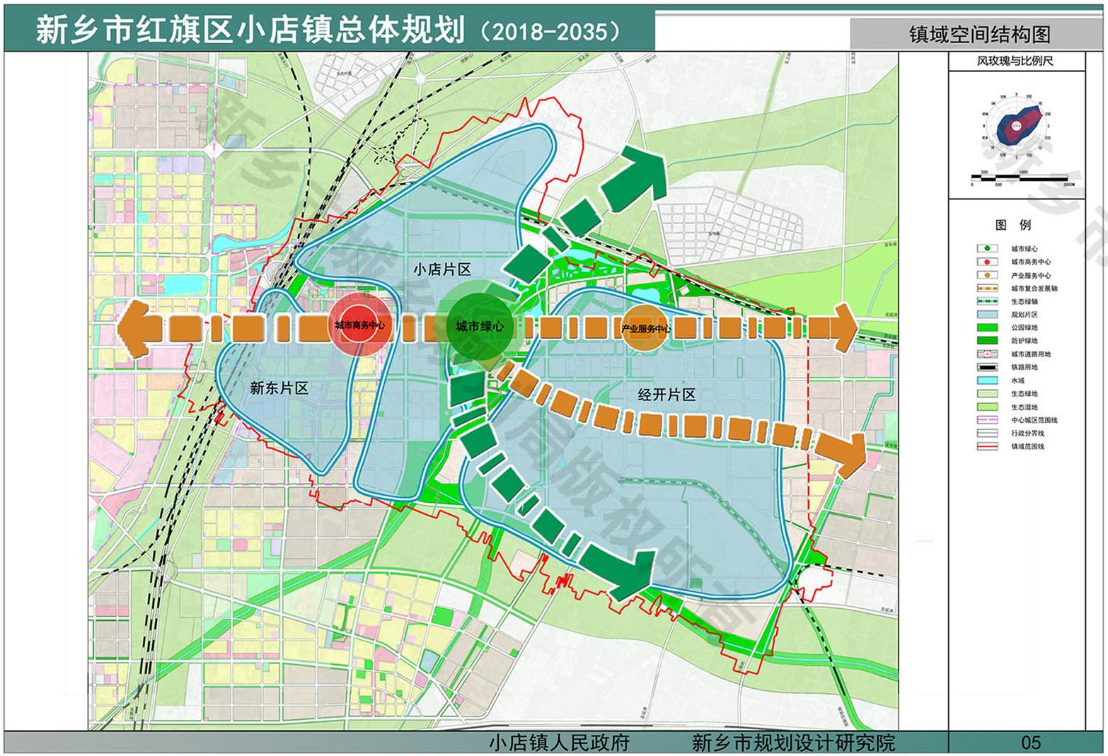 新乡市东区新规划:小店镇规划详情