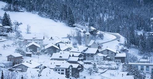 瑞士:菲利苏尔的清晨