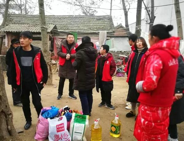 """情系山果、温暖寒冬—山果公益爱心志愿者""""暖冬""""行动"""