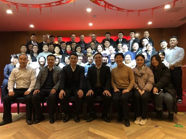 郑州市郊联社南曹信用社举办2019年新春联欢晚会