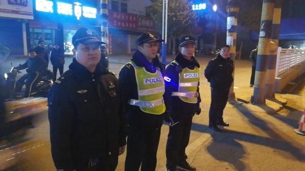邓州新华派出所扎实开展夜间治安巡逻防控工作