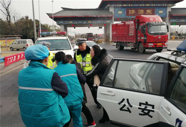 分秒必争 警广联动开辟救助危重病人绿色通道