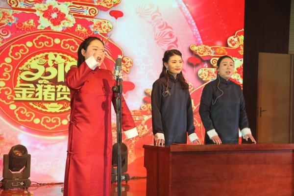 卧龙区法院举办2019年迎新春联欢会