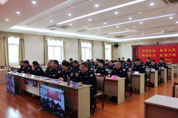 【平安守护】内乡县公安局召开春节安保工作部署会