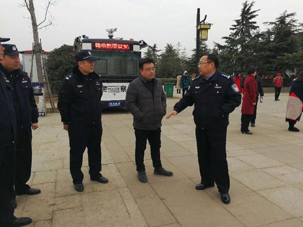 邓州:马骁局长深入基层检查督导春节安保工作
