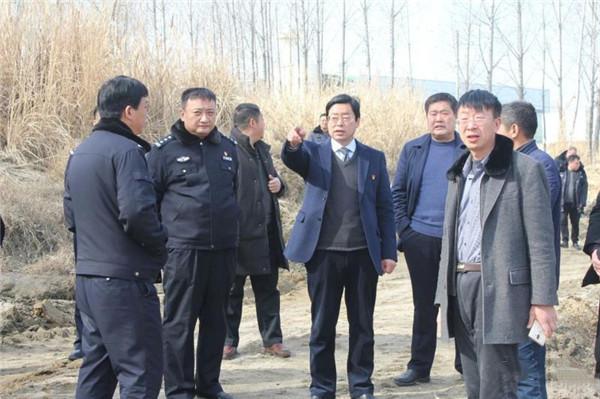 南召县政法部门对春节期间非法盗采河砂行为予以坚决打击
