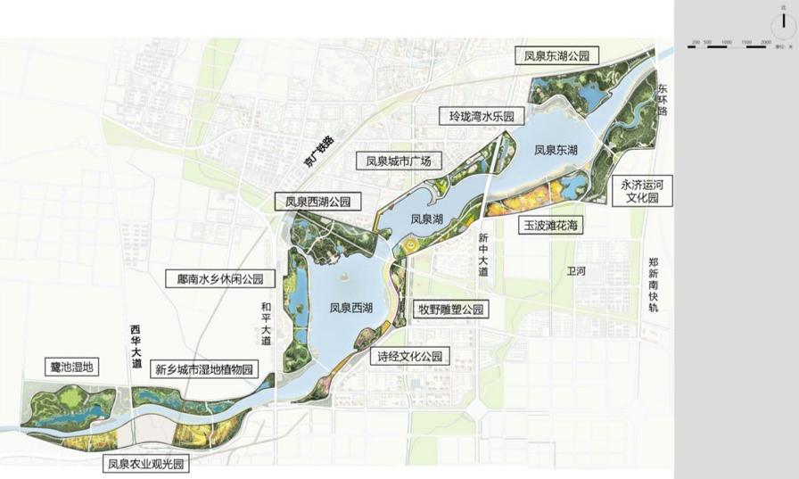 《新乡凤泉湖景观修建性详细规划》公示