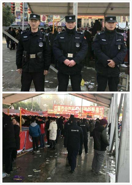有我在,护您平安——新野县公安局特巡警大队圆满完成春节期间安保工作