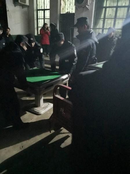 社旗警方成功破获一起聚众赌博案