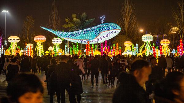 郑州好评如潮的奇幻灯光节,错过再等一年